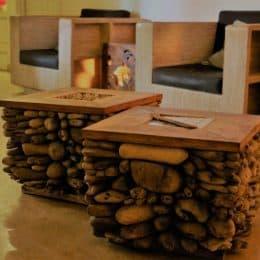 עיסוי אבנים חמות ארוחה וג'קוזי בחדר פרטי