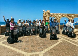 רכינוע – טיול סגווי קיסריה